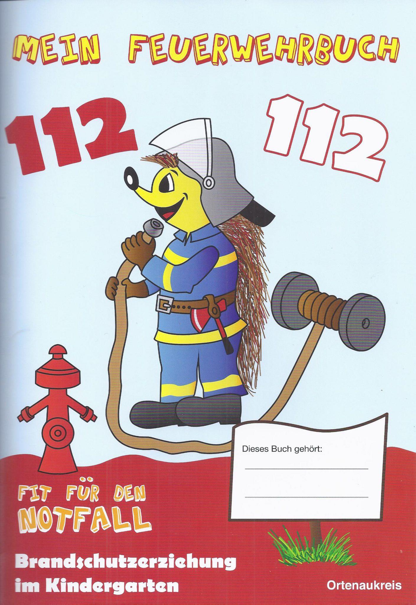 Brandschutzerziehung für Kindergärten im Ortenaukreis, das Buch