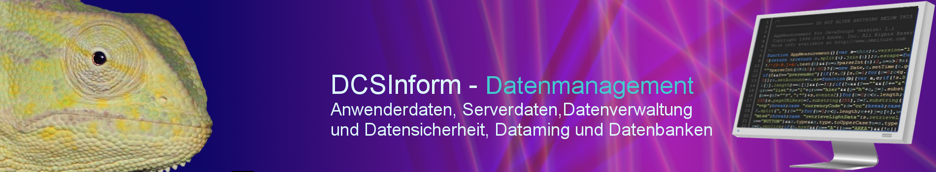 DCSInform - Datenmanagement