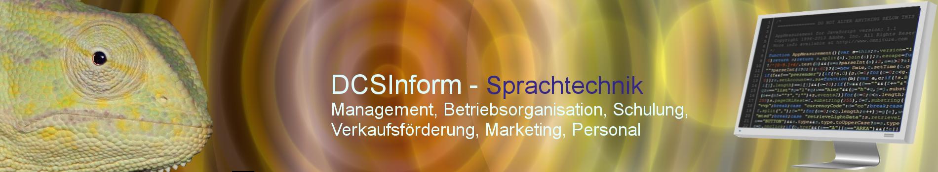 DCSInform - Sprachtechnik