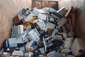 fachgerechte Entsorgung in der Mülldeponie